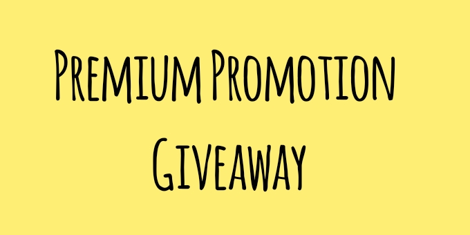 Giveaway: Win Premium Promotion/Advertising