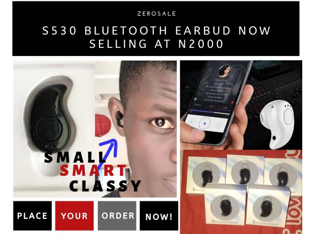 S530 Bluetooth Earbud mini headset  - 2