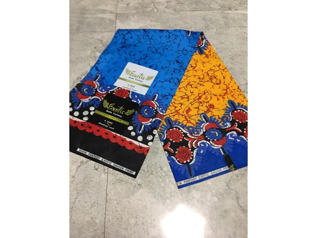 Buy Your Small Ankara 80% Cotton Fabric From Jenhez Fashion House (WATCH VIDEO) - 3