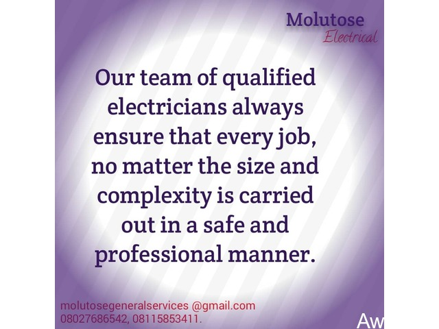Quality Electrical Services - Call 08027686542 - 3