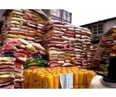 CUSTOM AUCTION OFBAGS OF RICE AND VEGETABLE OIL IN LAGOS ADVERT{IKEJA} - Image 1