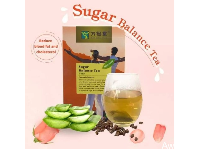 Sugar Balance Tea Today (Buy 2 Pack, get 1 FREE diabetic patch) - 1