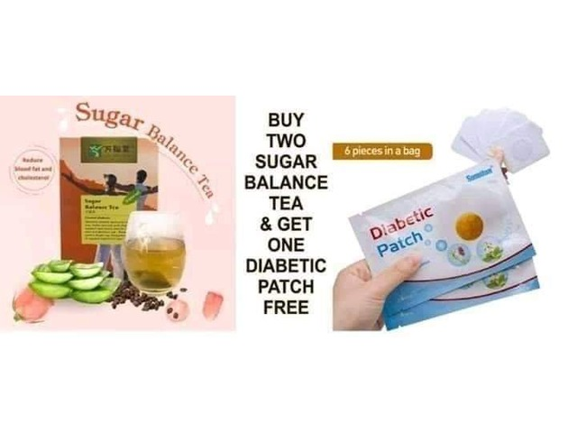 Sugar Balance Tea Today (Buy 2 Pack, get 1 FREE diabetic patch) - 2