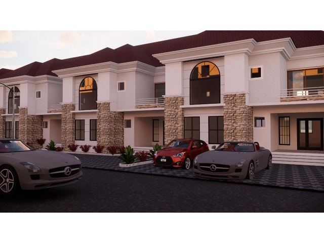 4 Bedroom Terrace Duplex For Sale at Karasana, Abuja (Call or Whatsapp - 08136248328) - 1