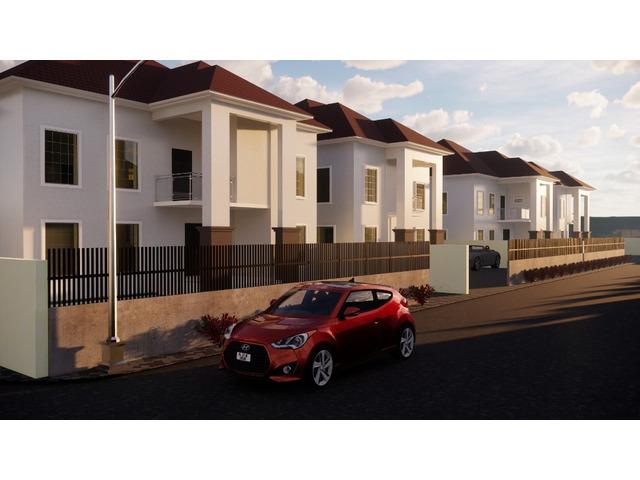 4 Bedroom Semi Detached Duplex plus bq For Sale at Karasana, Abuja (Call or Whatsapp - 08136248328) - 1