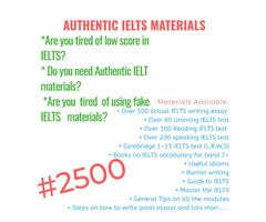 Get Actual IELTS Materials for just N2500 and get high score (Call or Whatsapp - 08166878899) - Image 2