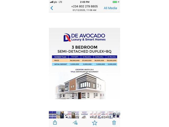 We are Selling Duplexes and Bungalows at De Avocado Luxury & Smart Homes, Abijo GRA  - 2
