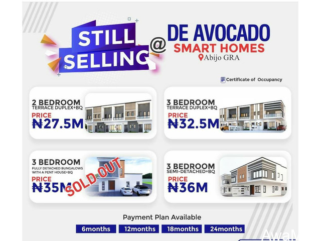 We are Selling Duplexes and Bungalows at De Avocado Luxury & Smart Homes, Abijo GRA  - 4