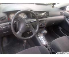 2005 Tokunbo Toyota Corolla Sport - Image 4