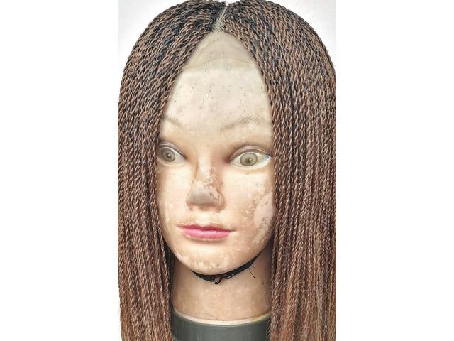Feather twist  wig - 1