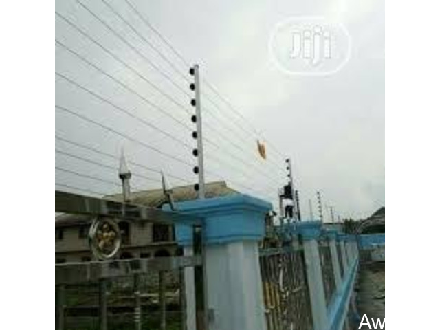Electric perimeter fence By Teso Tech - 1