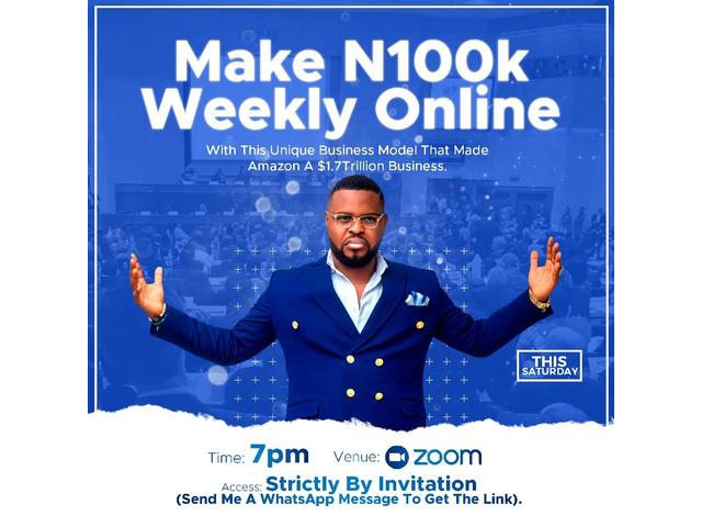 Make money online - 1