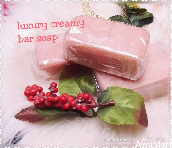 Get Your Luxury Creamy Bar Soap From Sweet Treasure Beauty Empire (Nationwide Delivery) - 1