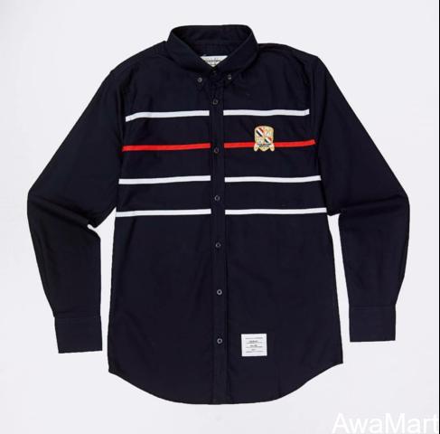 Thom Browne semi formal shirts - 4