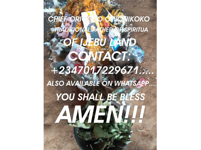 The best powerful spiritual father of herbalist and native doctor +2347017229671... - 2