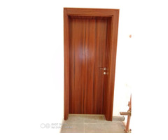 Internal Flush Doors made of MDF wood, with frame, stopper, architrave and profile  - Image 3