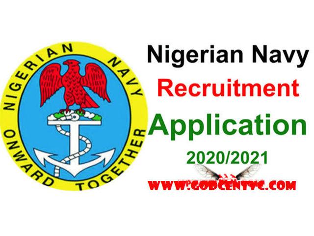 Nigeria Navy Recruitment form for sale - 2