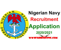 Nigeria Navy Recruitment form for sale - Image 2