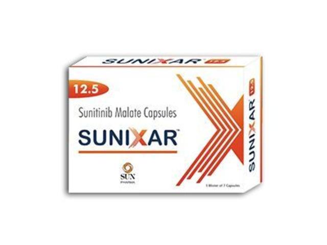 Buy Sunixar 12.5 mg Sunitinib Capsule Online - 1