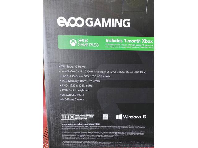 Brand New Evoo Gaming Laptop - 4