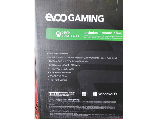 Brand New Evoo Gaming Laptop - 5