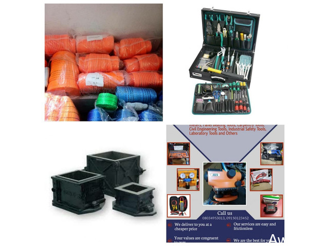 We Sell Digital Anemometer, Gas Regulator, Pros Electrical Tools Box, Cube Mould and more - 3