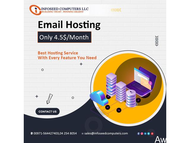 GSuite, Microsoft Outlook Best Email hosting Service Provider - 1