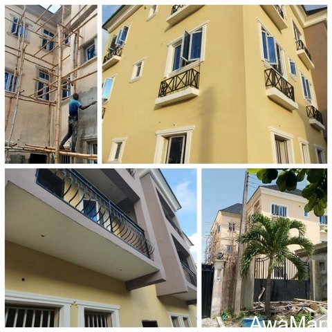6 Units of 3 Bedroom Flat with a Self-Contain Boy's quarters For Sale - 1