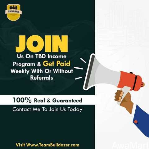 Team bulldozer income you can earn up to 5k per week  - 1