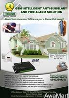 GSM Intelligent Anti-burglary And Fire Alarm Solution (SMART HOMES) - Image 1