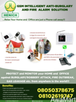 GSM Intelligent Anti-burglary And Fire Alarm Solution (SMART HOMES) - Image 2