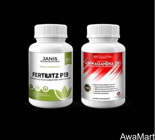 GET FERTIVIZ P 13 AND ASHWAGHANDA DS - 2-IN-1 TOTAL FERTILITY CURE (Call or Whatsapp - 08060812655) - 1