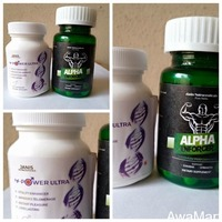 M POWER ULTRA AND ALPHA ENFORCER - 2-IN-1 TOTAL CURE FOR MEN INFERTILITY AND SEXUAL WELLNESS - Image 1