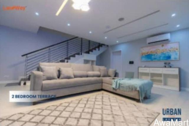 2 Bedroom Terrace at Lavadia Inside Urban Prime One, Abraham Adesanya - LEKKI - 2
