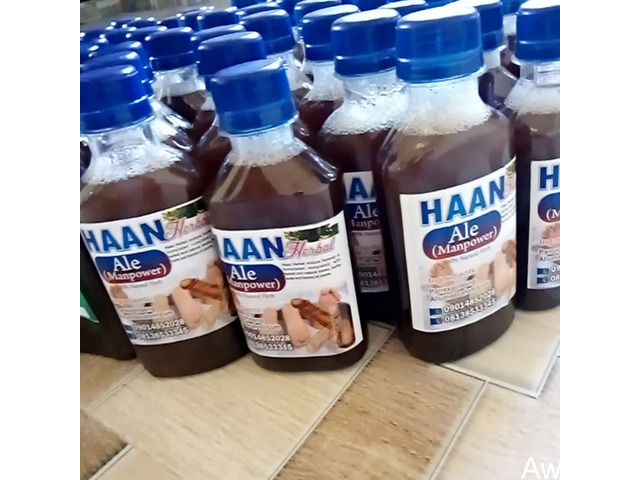 HAAN Herbal Mixture Drink - Manpower and Body System Cleanser - 1