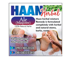 HAAN Herbal Mixture Drink - Manpower and Body System Cleanser - Image 2