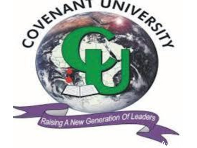 Covenant University,Ota Admission for 2021/2022 Session is ongoing  Call  08126132196  - 1