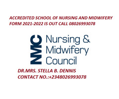 College of Nursing Ochedama 2021/2022 Admission Form is out call 08026993078 for more details  - Image 1