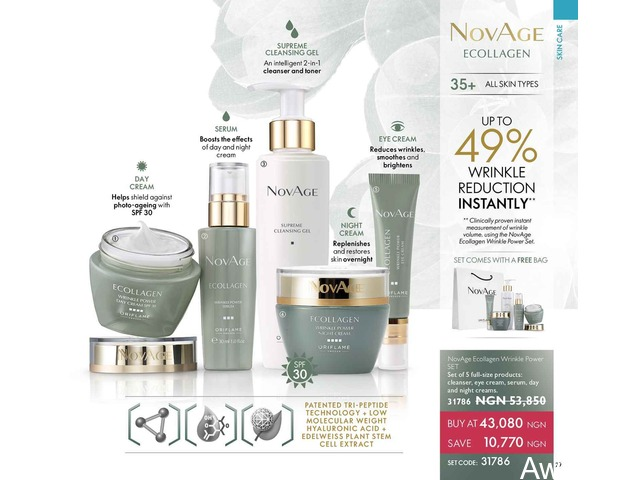 Novage Skin care Organic routine - 2