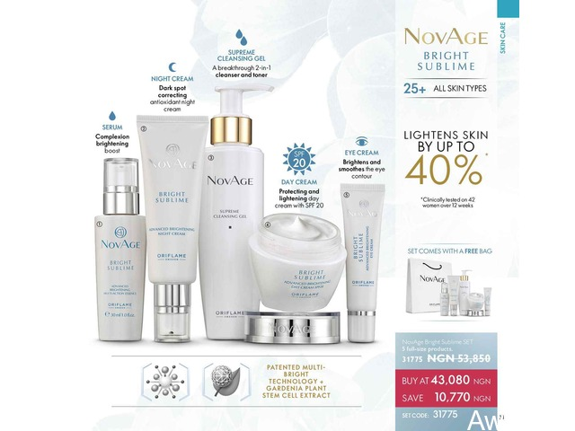 Novage Skin care Organic routine - 3