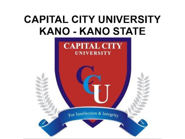 Capital City University, Kano State Post-UTME Form 2021/2022 Registration Form Out  - 1