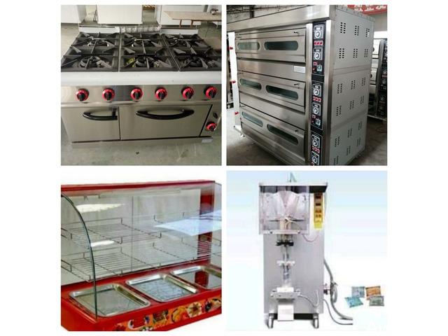 Get Your Gas Oven, Mixer, Snacks Warmer, Supermarket Shelves etc - 2