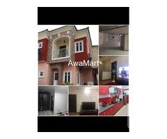 SELLING NOW - Tastefully Built Semi Detached 4 Bedroom Duplex with BQ at Ikota Villa Estate, Lekki  - Image 3