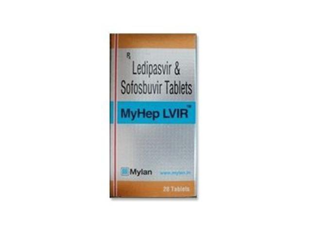 MyLan Myhep LVIR Tablet -  Ledipasvir and Sofosbuvir Generic - 1