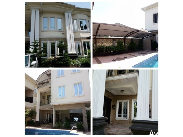 Modern 6 Bedroom Detached House with Swimming Pool - CALL 09035034844  - 1