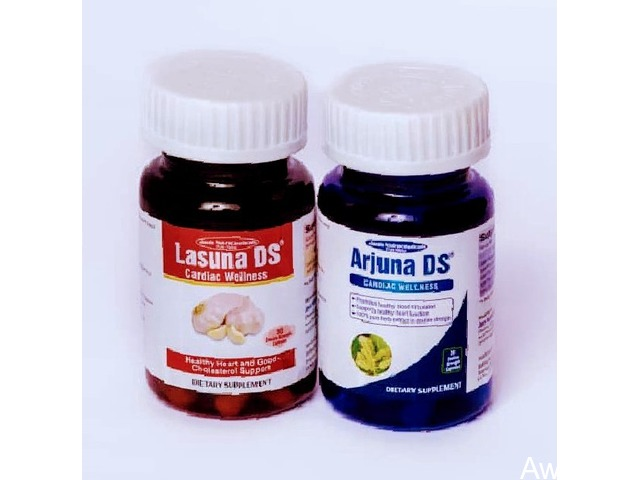 Order For Arjuna DS and Lasuna DS 2-in-1 Blood Pressure Reversal and Cholesterol Regulator  - 1