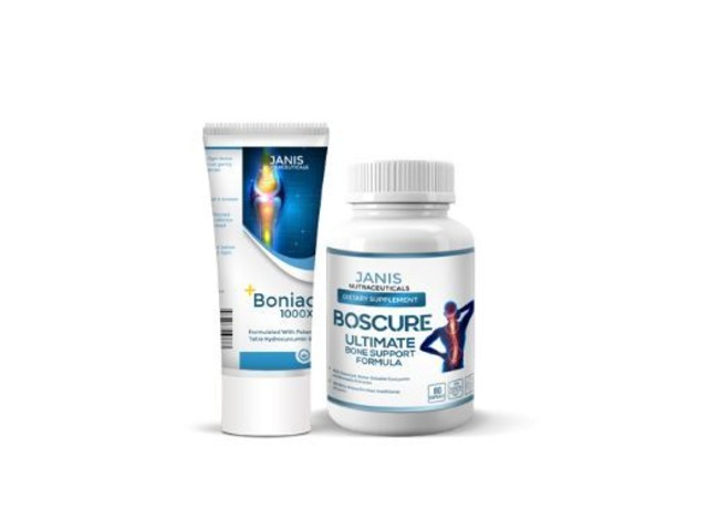 GET BONIAC AND BOSCURE - 2-IN-1 ARTHRITIS AND BONE CARE  - 1