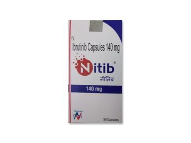 Nitib Ibrutinib 140mg Capsule - 1